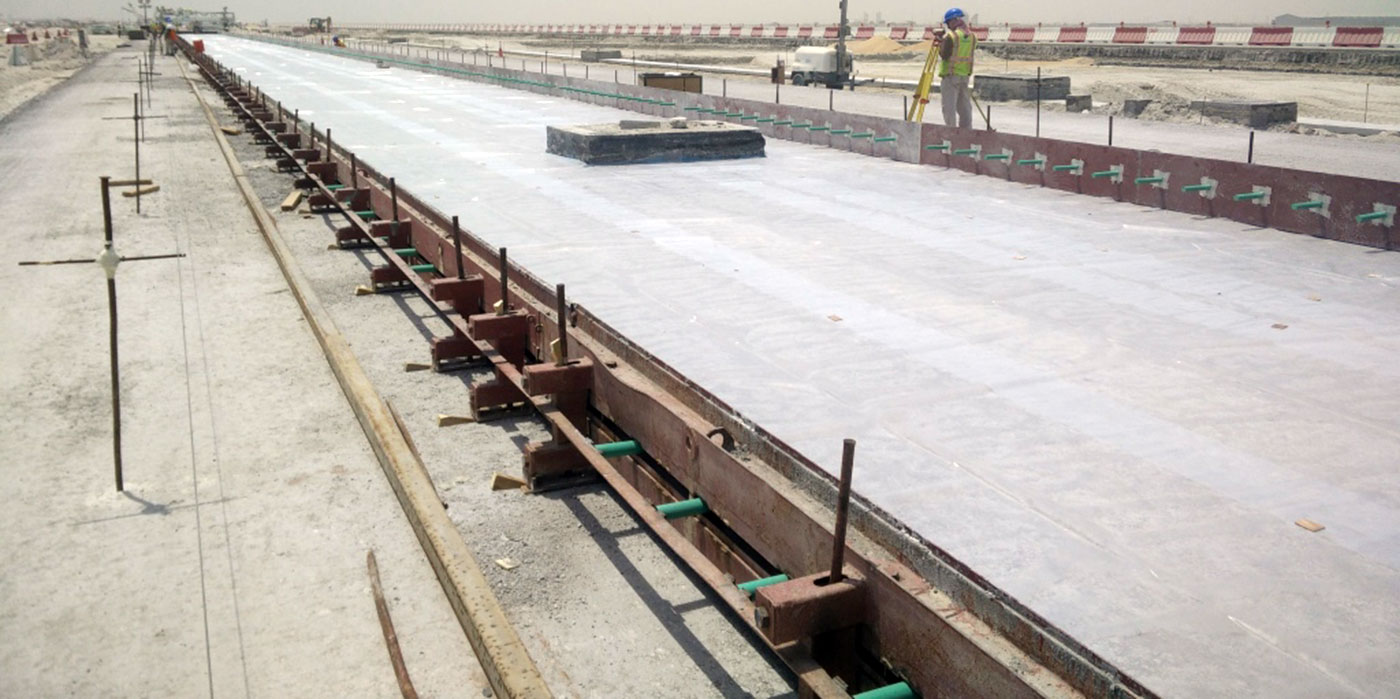 fusteel epoxy coated dowel bar qatar airport